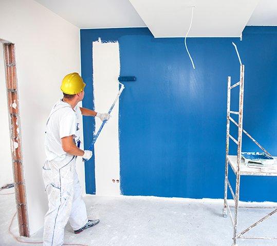 indoor condo painting